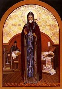 Преподобний Іов Почаївський ігумен і чудотворець