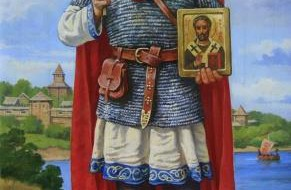 Перший київський мученик князь Оскольд - Миколай