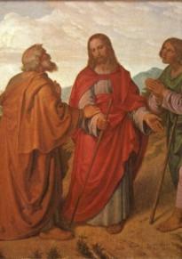 Світла седмиця. Ісус Христос явився двом учням по дорозі в Еммаус