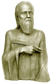 Преподобний Нестор Літописець. Реконструкція по черепу С. О. Нікітіна