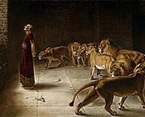 Відповідь Даниїла цареві. Картина Брітона Рів'єра. Міський музей м. Манчестер