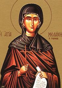 Прерлдобна Меланія Римлянка