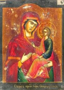 Староруська ікона Божої матері