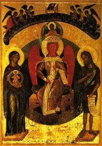 ікона Софії премудрості Божої Новгородська