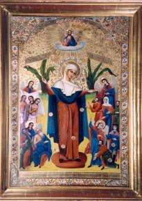 Ікона Божої Матері Всіх скороботних Радість